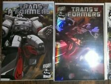 Transformers comics lot DW Dreamwave Generation G1 #1 and chrome #1