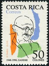 Costa Rica GANDHI Mint Stamp