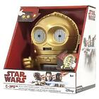 Star Wars C-3PO Alarm Clock Night Light With Character Sounds and LCD Display