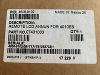 New Simplex 4606-9102 Remote LCD Annunciator 4010ES 07431003 Alarm Fire Security