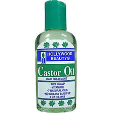 [HOLLYWOOD BEAUTY] CASTOR OIL HAIR TREATMENT 2OZ