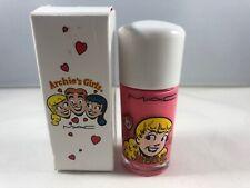 BNIB MAC Archie's Girls Nail Lacquers in Comic Cute Bright Coral Nail Polish