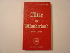 Alice in Wonderland, Lewis Carroll, Award Books, Best Seller Classics, Paperback