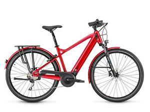 2021 Moustache Samedi 28.5 Hybrid / Leisure Electric Bike in Red