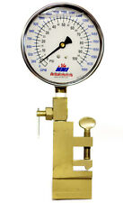 NNI Hydrant Flow Clamp on Pitot Gauge Dual Read 160Psi 2120 GPM with case