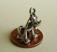 BEAUTIFUL  STERLING SILVER '  PLUTO  '  CHARM CHARMS
