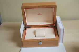 Genuine Omega Inner Wooden Watch Box & Outer Box for Current Models - AD Stock