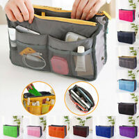 Women's Handbag Organiser Travel Insert Purse Large Liner Organizer Tidy Bags