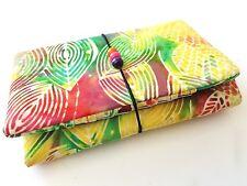 Handmade gift womens credit card wallet holder purse  Javanese batik 21 slots