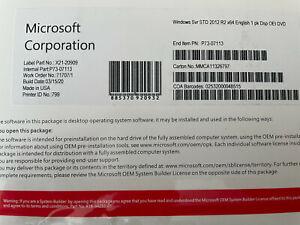 WIINDOWS SERVER 2012 R2 STANDARD 64 BIT DVD PLUS PRODUCT KEY 2 CALS