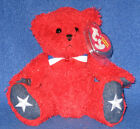 TY SPARKLERS the BEAR BEANIE BABY - TY EXCLUSIVE - MINT with MINT TAGS