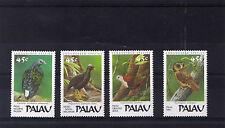 Palau 1989 serie Uccelli-Birds MNH
