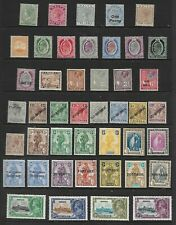 MALTA - 1885 -1935 -Very Nice mint selection with values to 10/-  LMM