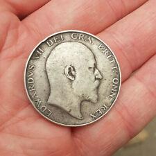 More details for king edward vii   2/6-  1909 silver  halfcrown   nice grade