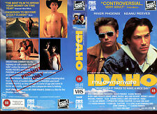 Idaho My Own Private - River Phoenix - Video Promo Sample Sleeve/Cover #17614