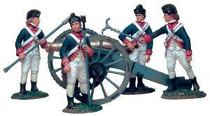 Britains 18008 Ltd Ed British Artillery Set #1 6 Pound Gun & 4 Man Crew 54mm New
