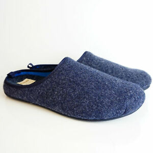 DIAMANTE BLUE MAN SLIPPERS REMOVABLE FOOTBED
