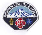 Mountain View Fire & Rescue No. 44 Fire Department Washington  Fire Patch NEW !!