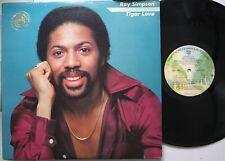 Soul Promo Lp Ray Simpson Tiger Love On Warner Bros. (Promo)