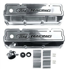 Ford Racing Mustang Valve Cover Polished Pair Boss 302/351C