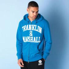 Felpe e tute da uomo blu con cappucci Franklin & Marshall