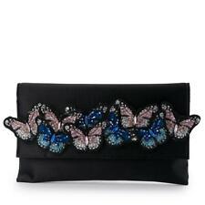 Olga Berg AUDREY Butterfly Foldover Clutch  Bag