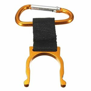 Colors Carabiner Belt Clip Water Bottle Holder Hiking Camping Snap Hook Keychain