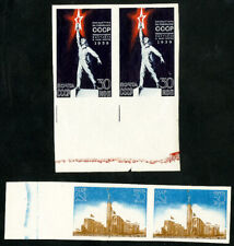 Russia Stamps # 714a-15a MNH XF Imperf pairs