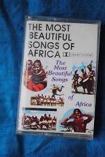cassette tape Most Beautiful Songs of Africa Kenya South Malaika Karibuni Bwana