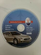 04-09 MASERATI QUATTROPORTE NAVIGATION CD #1 (CALIFORNIA, NEVADA, HI)
