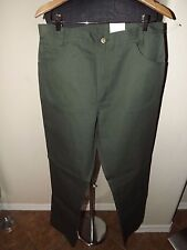 FLYING CROSS LADIES' POLY PANT STYLE 49455 FOREST GREEN SIZE 16R **UN-ALTERED**