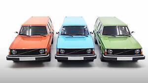 1:18 VOLVO 164 or 245 DL model road car blue orange or green DNA 000061 72 80 81