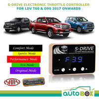 SAAS Electronic Throttle Controller for LDV T60 D90 2017 Onward S Drive