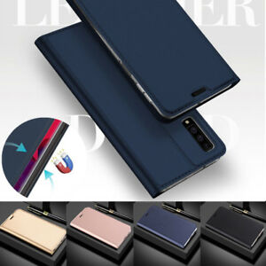 For Samsung Galaxy S21 Ultra S20 FE Note 20 A72 A52 Wallet Card Slot Case Cover