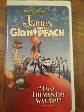 James And The Giant Peach VHS 1996 Disney Animation Adventure Family Free Ship