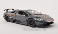 Burago-Lamborghini Murcielago LP 670-4 SV-Gris - 1:24 Bburago >> NEW <<
