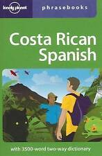 Lonely Planet Costa Rican Spanish Phrasebook (Lonely Planet Phrasebook), Very Go