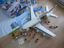 Playmobil 4310 Large Pacific Airline Cargo Passenger Plane Figures Toy Airplane