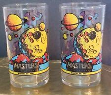 NEW Super 7 MOTU Skeletor  He-man Pint Glasses Rare Masters of the Universe