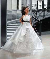Mattel Barbie Doll 60th Anniversary Doll Model Muse Dress Gown Only No Doll