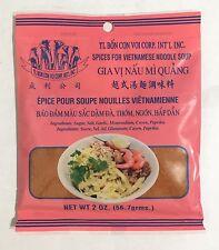 2oz Spices for Vietnamese Noodle Soup Gia Vi Nau Mi Quang by TL Bon Con Voi Corp