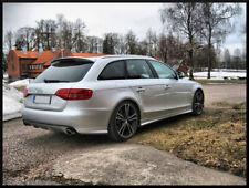 Audi A4 8K B8 Diffusor Tuning Heckdiffusor Limo Avant (Einfachendrohr l+r)