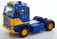 1:18 Road Kings Volvo F88 ASG Transport Spedition 1965 blue/yellow