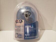 Motorola Bluetooth Headset H500 Wireless with Nfl Dvd Bonus. Nib Unopened
