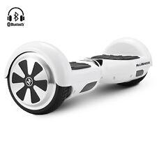 6,5''  Bluetooth Gyropode Auto équilibre Overboard électrique Blanc E-Scooter