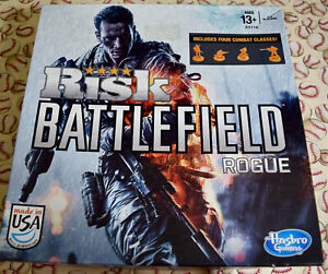 Risk Battlefield Rogue Board Game Replacement Parts Pieces 2013 Hasbro