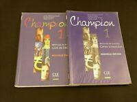 CHAMPION 1 Méthode française Nouvelle èdition 2x Livre de èlève/Cahier d'ex. +CD