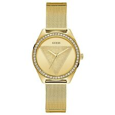 Guess Women's Watch, Gold-Tone Stainless Steel with Crystals  W1142L2