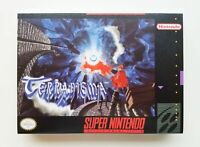 Terranigma RPG Game / Case SNES Super Nintendo (English Translation) USA Seller