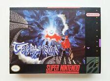Terranigma RPG Custom Case / Game SNES Super Nintendo (English Translation) USA